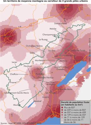 Franche-Comté : Radioscopie de la Bande frontalière duDoubs