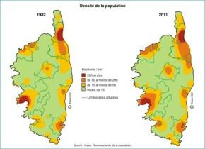 Corse : 30 ans de croissancedémographique