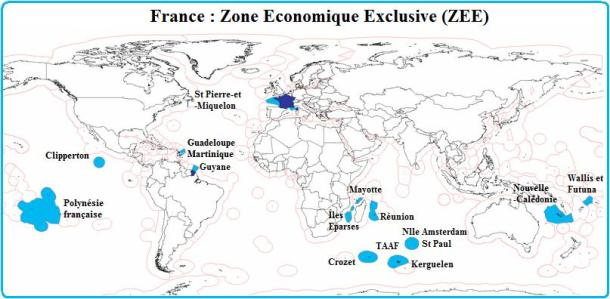 France-ZEE-Zone-économique-exclusive