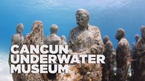 Cancun (Mexique) : le plus grand musée sous-marin dumonde