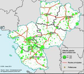 Pays de la Loire : le rôle central de la transformation pour la filièrebois