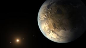 Kepler 186f , au coeur d'un système planétairefascinant
