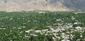 Escarmouches frontalières répétées entre Kirghizistan etTadjikistan
