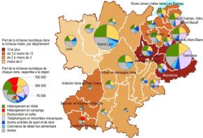 Rhône Alpes : 12% de la manne touristiquefrançaise