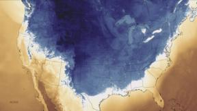 USA : Une descente d'air polaire massive et très précoce pour lasaison
