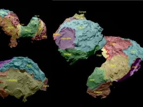 Rosetta : Les surprises deTchouri