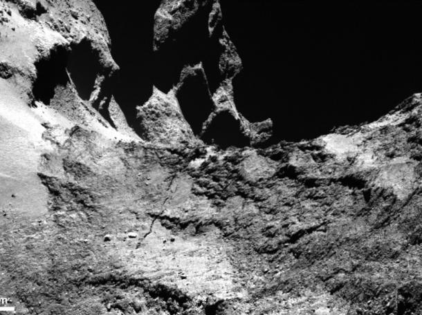 Rosetta photographie Tchouri (image diffusée le 22 janvier)