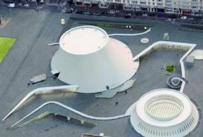 Le Havre : Le «volcan» Niemeyer fume ànouveau