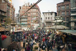 Népal : La mythique Katmandou victime de lapollution