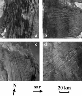 Découverte de méga-yardangs à la surface deTitan