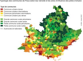 Provence-Alpes-Côte d'azur : Des territoires ruraux peu peuplés maisdynamiques