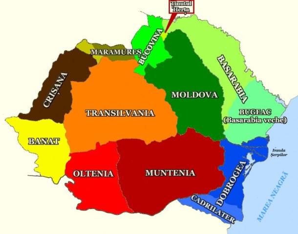 Romania-Mare-si-regiunile-ei