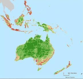 La NASA cartographie les zones terrestres que l'on n'a pas encoreruinées