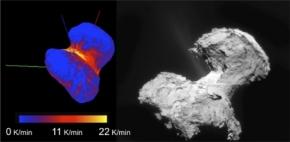 Tchuri :  Rosetta continue de dévoiler dessecrets
