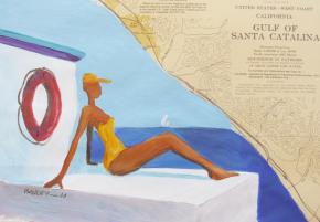 Hervé Baudry : palettes de couleurs et de cultures sur cartesmarines