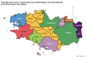 Bretagne : des territoires face aux adaptations desemplois