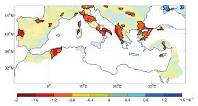 Le bassin méditerranéen : pluies intenses dans un «hot spot» climatique
