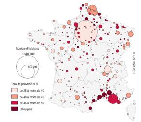 France : La pauvreté côtoie d'autresfragilités