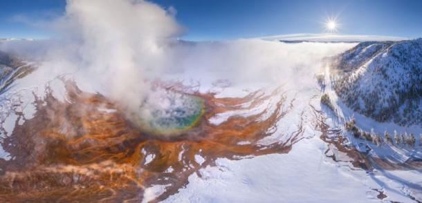 Explosive Volcano Panoramas