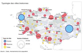 Bretagne : le poids des villesmoyennes