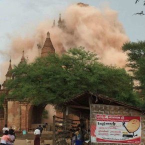 Birmanie : Un séisme détruit 228 temples etpagodes