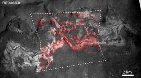Mars : de nouvelles preuves d'un passéhumide