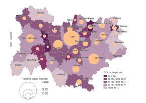 Auvergne-Rhône-Alpes : mutation des emplois et desterritoires