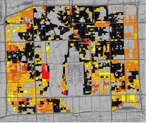 Pékin : Les mutations urbaines depuis 50ans