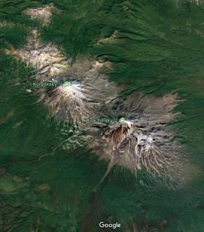 Volcans : Les fourneaux duKamchatka