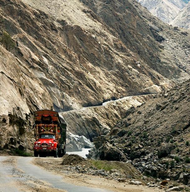 Karakorum Highway.
