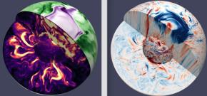 Les mouvements du noyau terrestre comme vous ne les avez jamais vus!