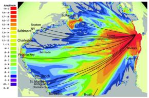 Tsunami : Des traces du tsunami de Lisbonne (1755) retrouvées dans lesCaraïbes!