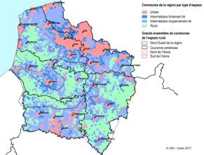 L'espace rural desHauts-de-France